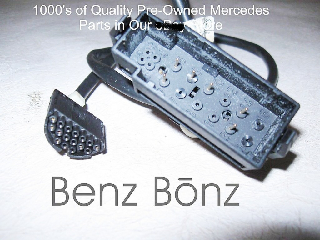 W140 300sd 93 Benzbonz Quality Pre Owned Mercedes Parts Details About Engine Wiring Harness Wires Updated S Wire Diagnostic Box Mb P N 1405408108
