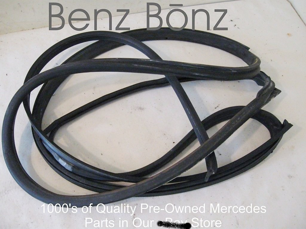 W140 300sd 93 Benzbonz Quality Pre Owned Mercedes Parts Details About Engine Wiring Harness Wires Updated S Weatherstripping Left Rear Swb Short Wheel Case