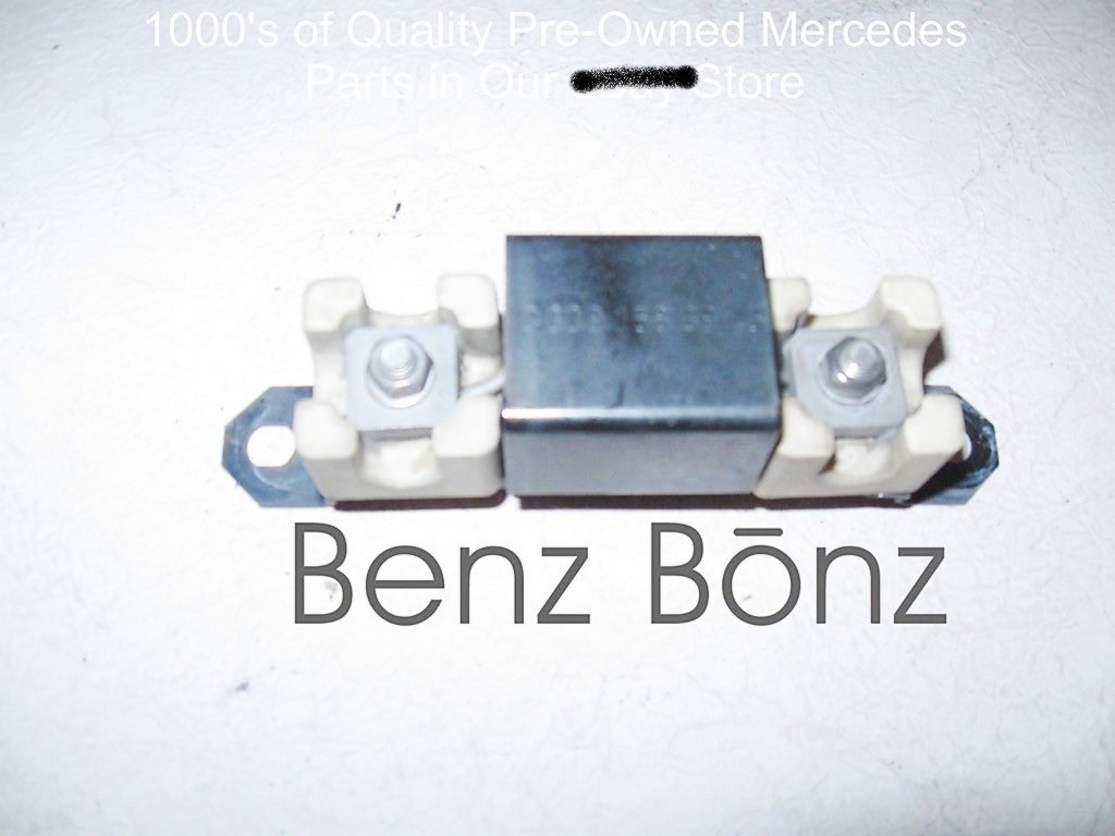 Sold Items Benzbonz Quality Pre Owned Mercedes Parts Delphi Wiring Harness Fan Resistor W140 300sd Mb P N 0001583945