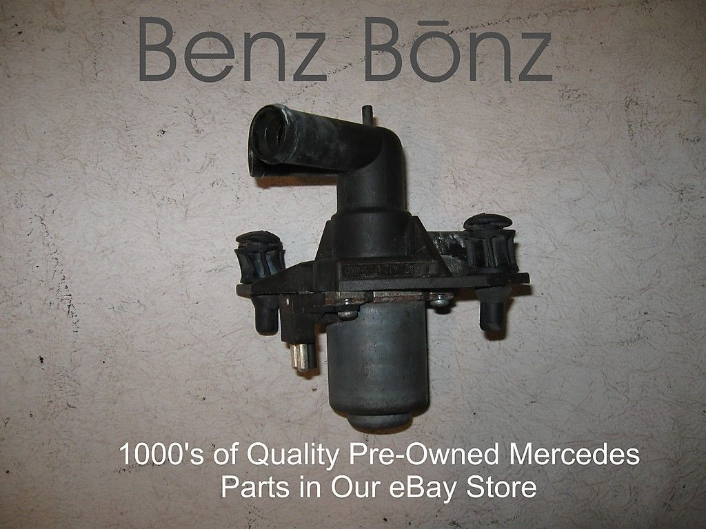 Diesel Om617912 Benzbonz Quality Pre Owned Mercedes Parts 240d Fuel Filter Coolant Heater Valve Mb P N 0018302084